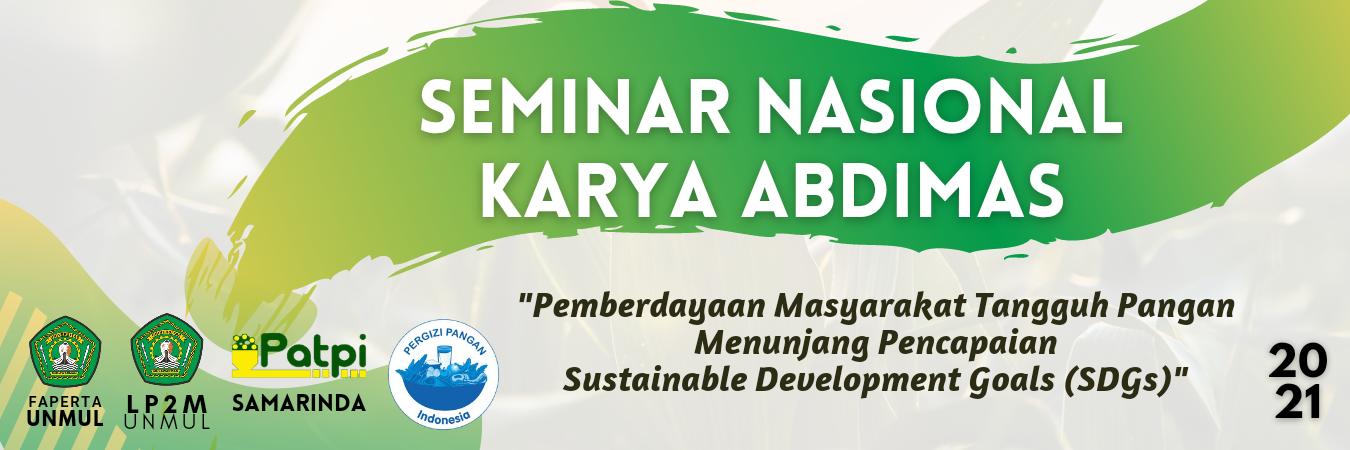 Seminar Nasional Karya Pengabdian Masyarakat